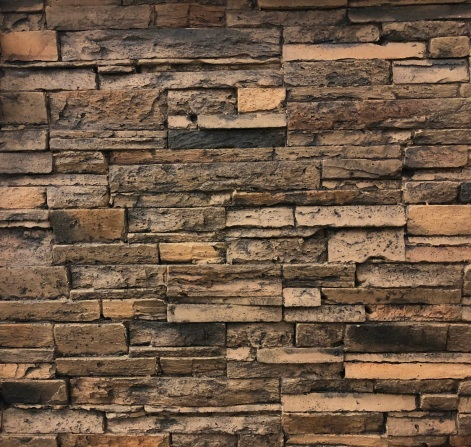 Brown Stacked Stone